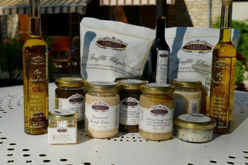 Assortiment de produits à la truffe - Tartufi Jimmy - Pauline&Olivier