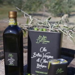 Huiles d'olive extra vierge biologiques italiennes