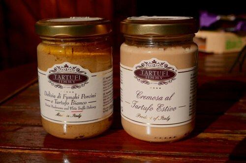 Crème de cèpes et truffe blanche - tartufi Jimmy - Pauline&Olivier