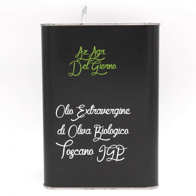 Huile d'olive extra vierge Bidon 5L - Del Giorno - Pauline&Olivier