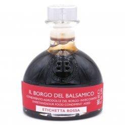 Condiment étiquette rouge (idéal en accompagnement) - Il Borgo del Balsamico - Pauline&Olivier