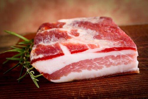 Pancetta Di Cinta Senese (petit cochon noir toscan) - Belli - Pauline&Olivier