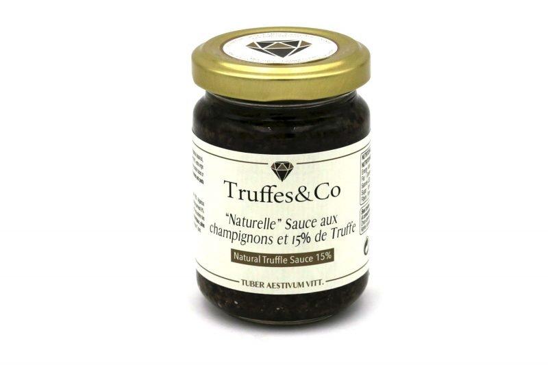 TC-STE15130 Salsa Tartufata 15% de Truffe Arômes Naturels