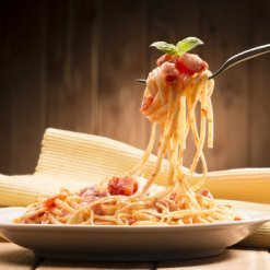 Sauce tomate à l'Amatriciana - Pauline&Olivier