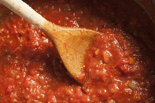 Sauce tomate et Cinta Senese - Pauline&Olivier
