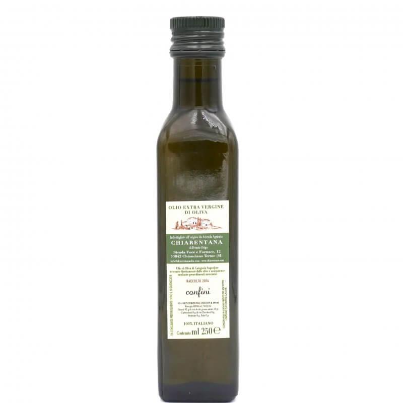 Huile d'olive extra vierge confini 250ml - La Chiarentana - Pauline&Olivier