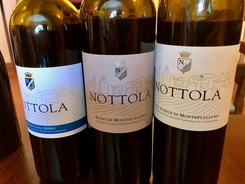 Nottola - vin italien de Toscane - Pauline&Olivier