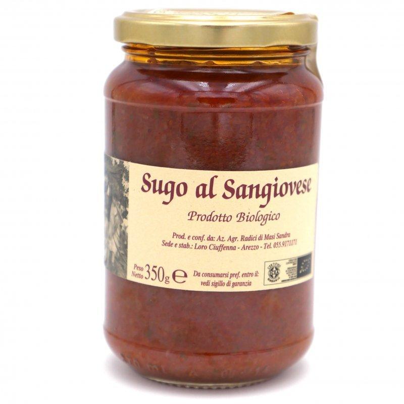 Sauce tomate au vin rouge Sangiovese - Azienda Agricola Radici - Pauline&Olivier