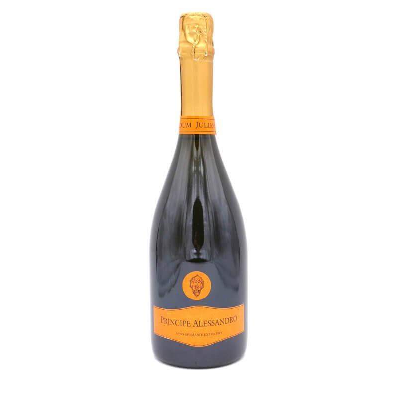 Vin blanc pétillant sec Principe Alessandro -Viticoltori dei Colli Cimini - Pauline&Olivier