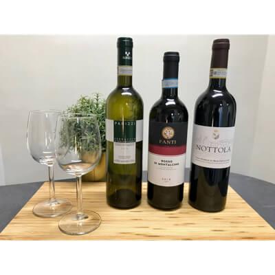 Coffret Trio vins Toscans - Pauline&Olivier