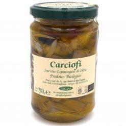 Artichauts à l'huile d'olive extra vierge Bio - Azienda Agricola Radici - Pauline&Olivier