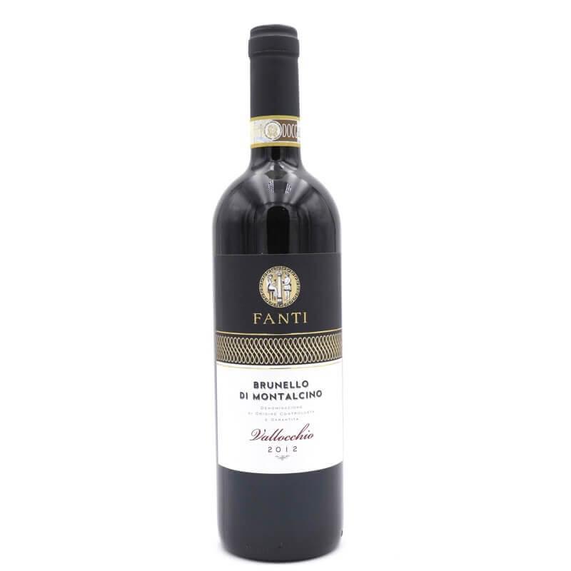 """vin rouge Brunello di Montalcino """"Valloccio"""" DOCG 2012 - Fanti - Pauline&Olivier"""