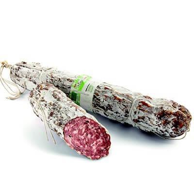 saucisson de porc à la truffe - Pedrazzoli - Pauline&Olivier