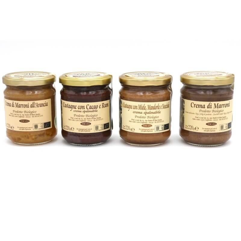 Gamme crèmes de marron - Radici - Pauline&Olivier