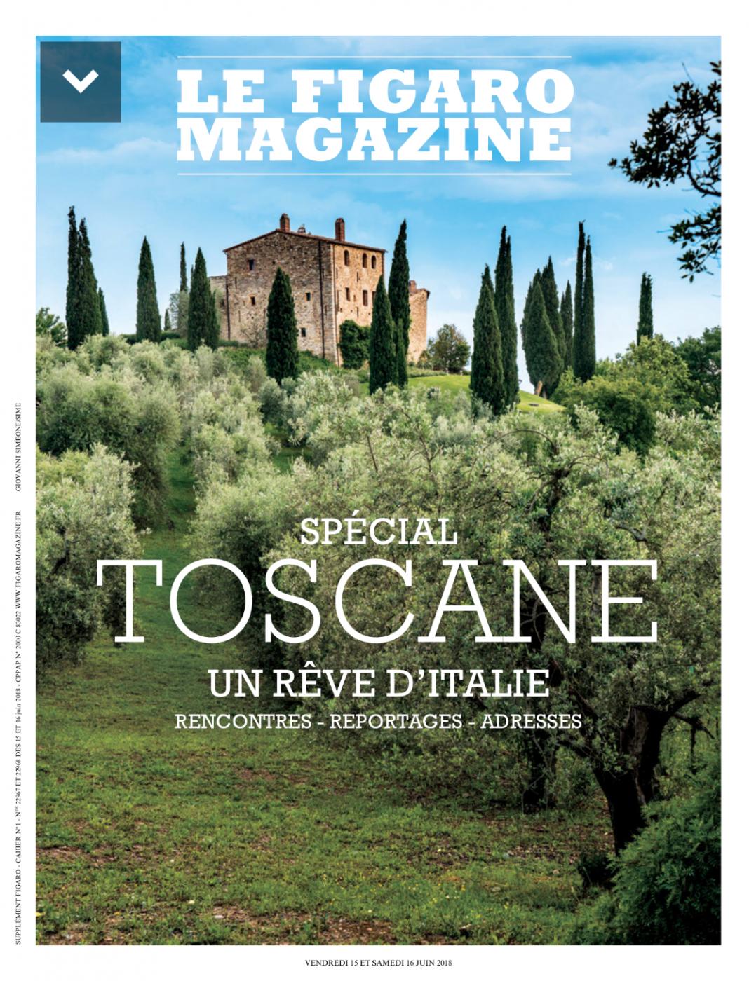 Figaro Mag Toscane - Cugusi - Pauline&Olivier