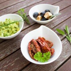 Antipasti et crèmes de légumes Bio