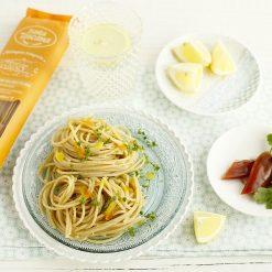 Spaghetti intégrale à la boutargue