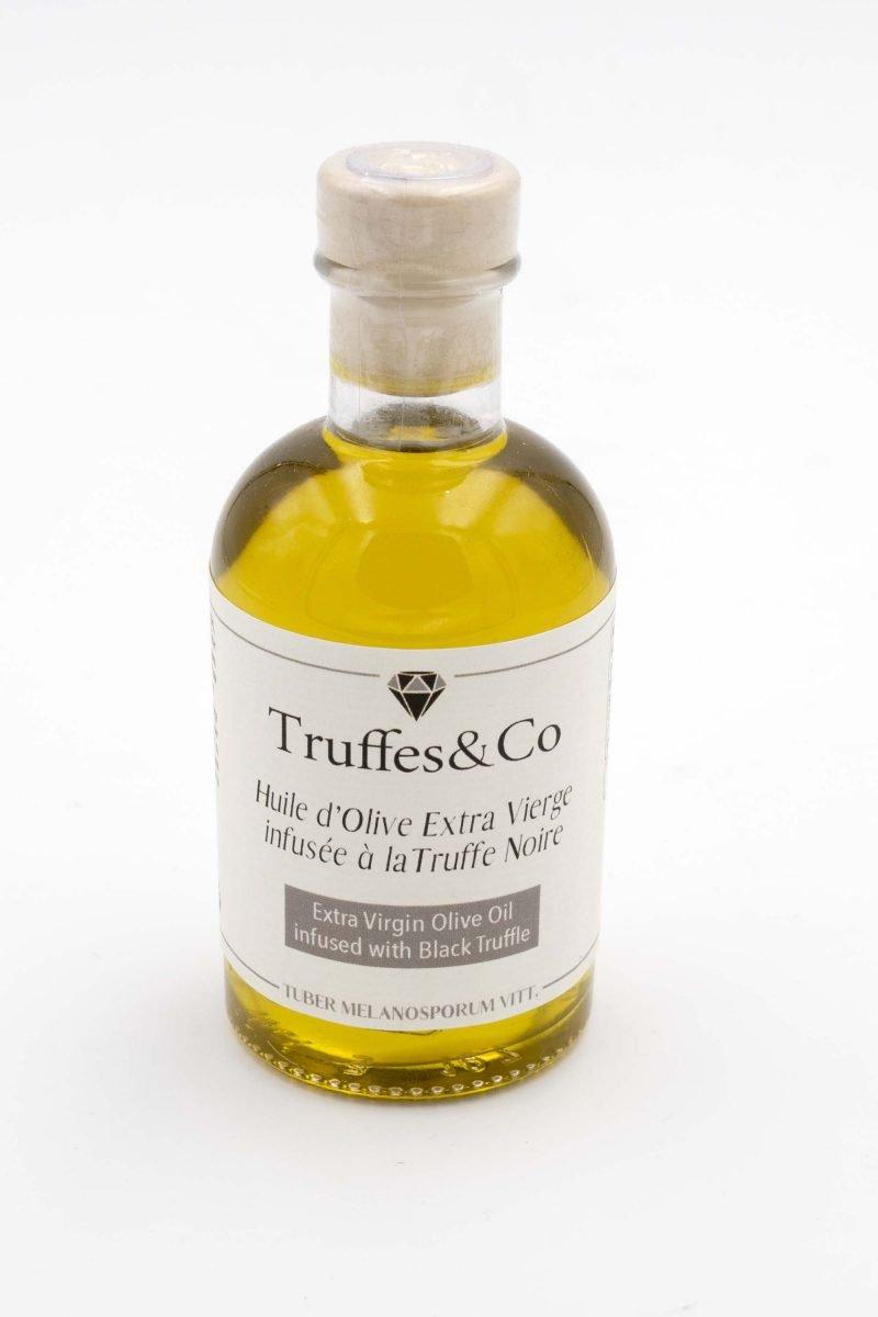 Huile d'olive infusée à la Truffe Noire Truffes&Co