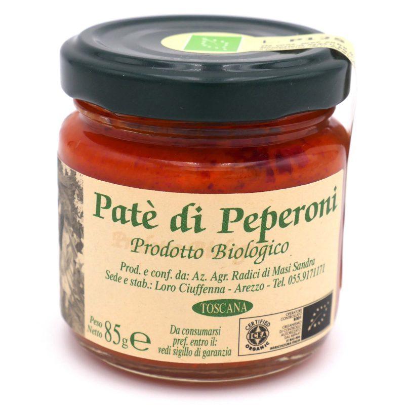 crème de poivron rouge Bio - Radici - Pauline&Olivier