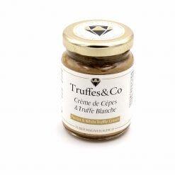 Crème de Cèpes à la Truffe Blanche - Truffes&Co