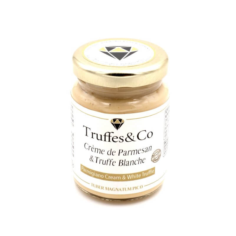 Crème de Parmesan à la Truffe Blanche - Truffes&Co