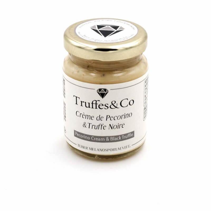 Crème de Pecorino à la Truffe Noire - Truffes&Co