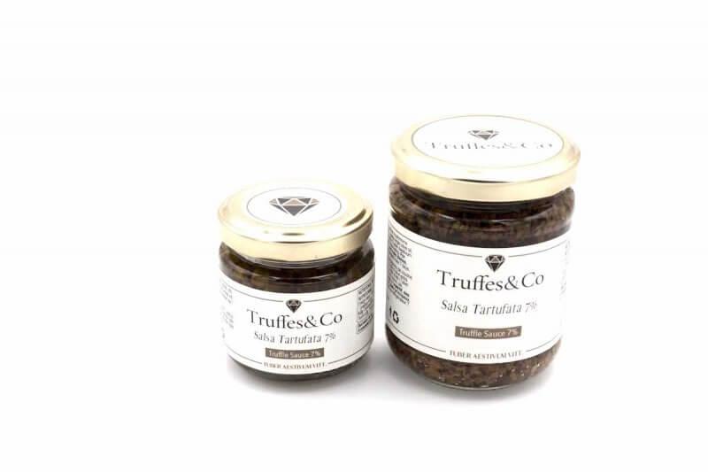 Salsa Tartufata 7% de Truffe 80g et 180g - Truffes&Co