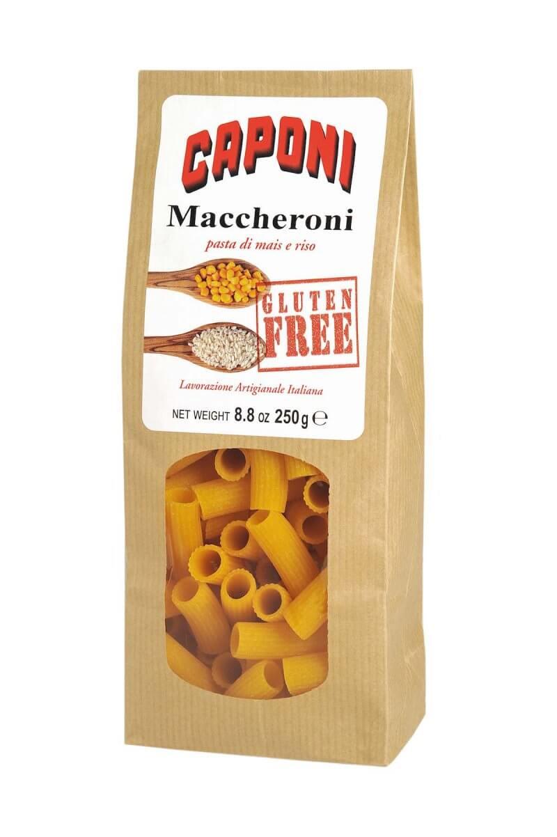 Pâtes Maccheroni Gluten Free - Caponi