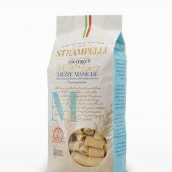 Pâtes Mezze Maniche d'Amatrice - Strampelli - Pauline&Olivier