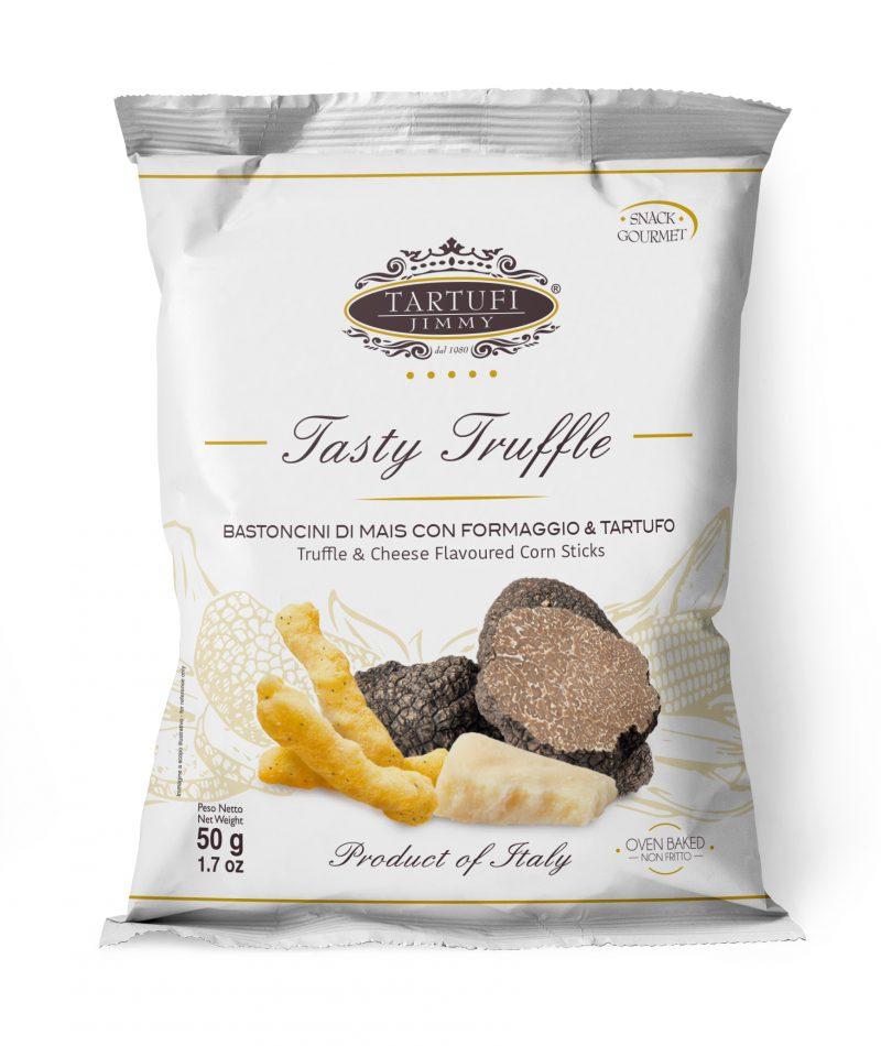 Biscuits soufflés au fromage et à la Truffe - Tartufi Jimmy - Pauline&Olivier