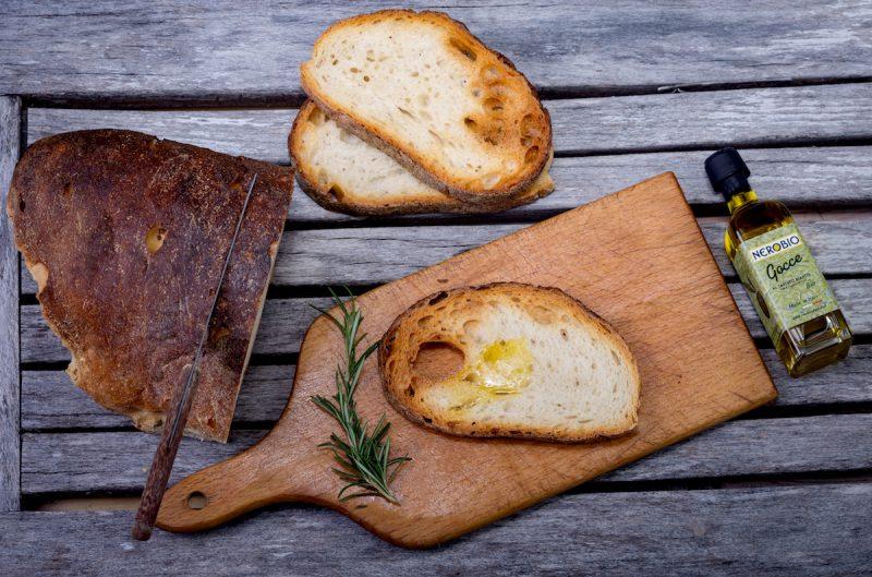 Bruschetta huile d'olive extra vierge à la truffe blanche Bio