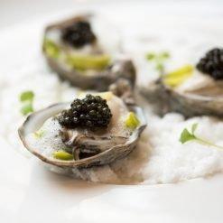 Caviar et produits de la mer