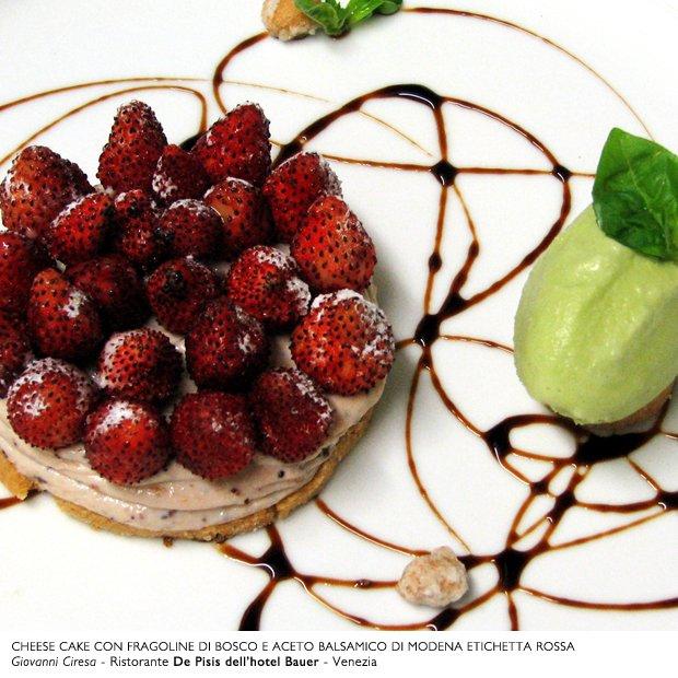 Recette de Tarte aux fraises de bois et crème de Balsamique