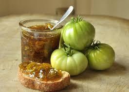 Confiture de tomate verte Bio - Radici - Pauline&Olivier