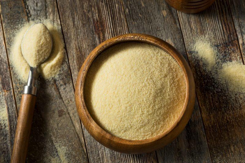 Farine de semoule de blé dur Toscan by Pauline&Olivier
