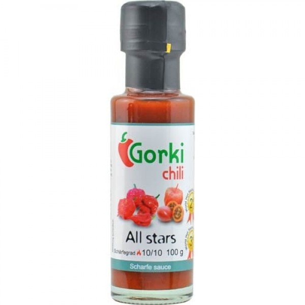 Sauce Piment All Stars 10/10 Gorky Chili By Pauline&Olivier